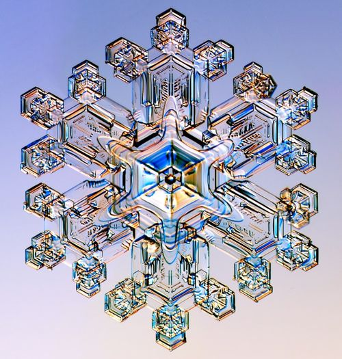 Beautiful snowflake
