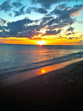 Sunset in Hawaii2011c