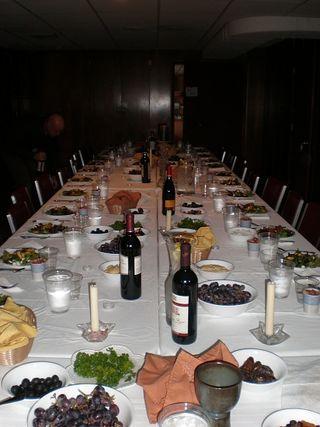 YF Seder Meal