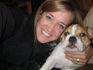 Laura and Dog