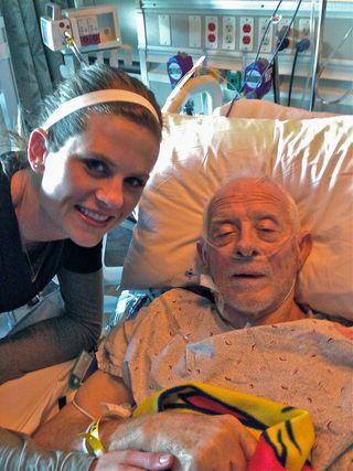 Jessica and Grandpa
