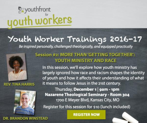 Tina and Brandon Youth Worker Training