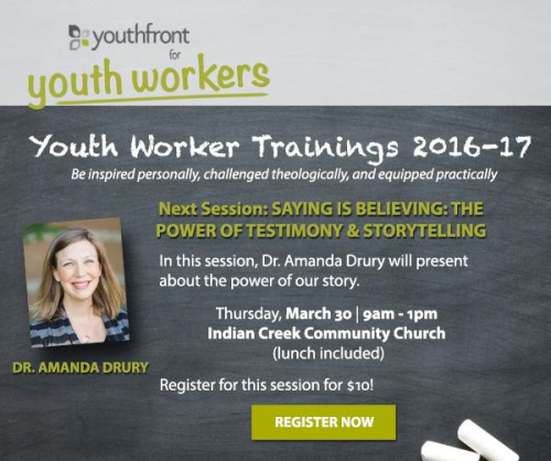 Drury Youth Worker Training